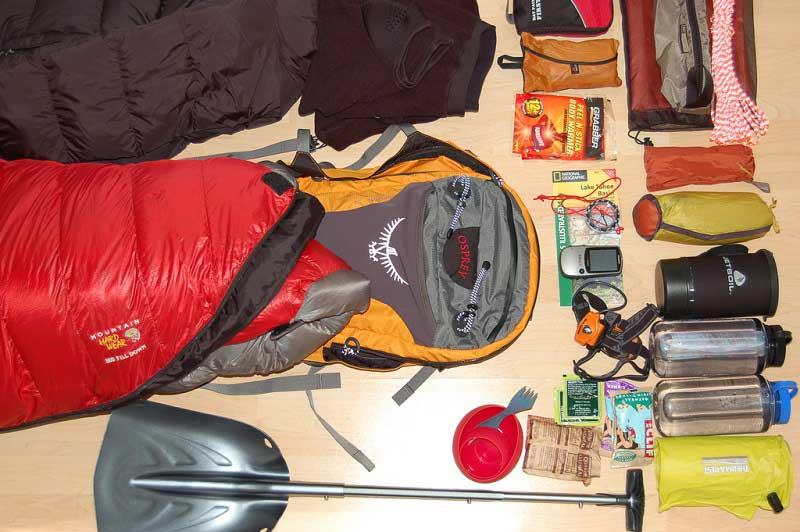 beach camping gear