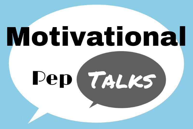 Giving Yourself Motivational Pep Talks on Dark Days